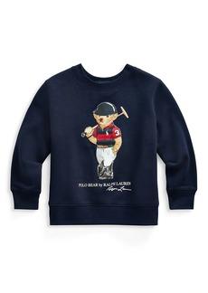 Ralph Lauren Little Boy's & Boy's Polo Bear Sweatshirt