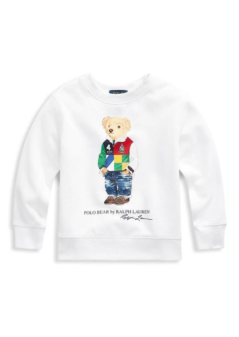 Ralph Lauren Little Boy's & Boy's Polo Bear Sweatshirt