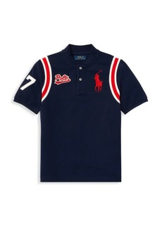 Ralph Lauren Little Boy's & Boy's Mesh Cotton Polo
