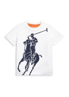 Ralph Lauren Little Boy's & Boy's Performance Jersey T-Shirt