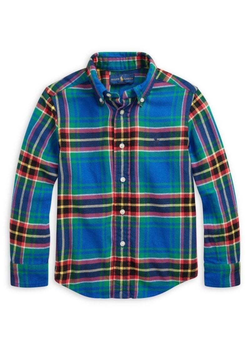Ralph Lauren Little Boy's & Boy's Plaid Shirt