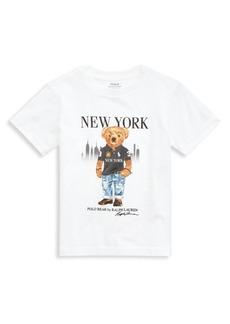 Ralph Lauren Little Boy's & Boy's Polo Bear Graphic T-Shirt