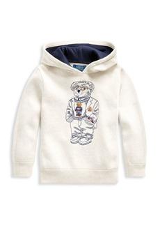 Ralph Lauren Little Boy's & Boy's Polo Bear Hoodie