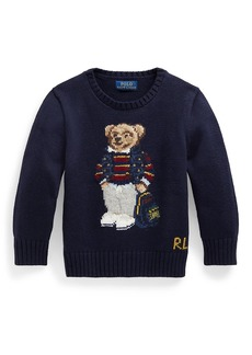 Ralph Lauren Little Boy's & Boy's Polo Bear Sweater