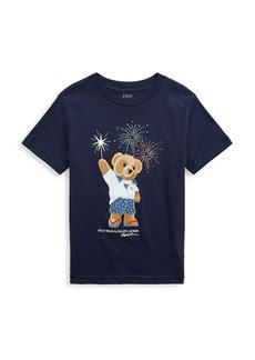 Ralph Lauren Little Boy's & Boy's Polo Bear T-Shirt