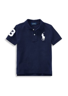 Ralph Lauren Little Boy's & Boy's Pony Mesh Polo