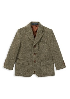 Ralph Lauren Little Boy's & Boy's Princeton Herringbone Jacket