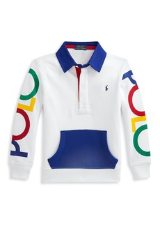 Ralph Lauren Little Boy's & Boy's Rugby Long Sleeve Sweatshirt