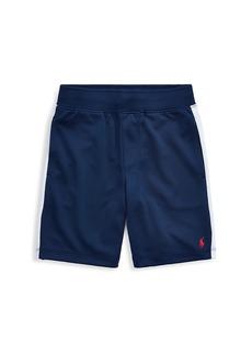 Ralph Lauren Little Boy's & Boy's Side Stripe Basketball Shorts