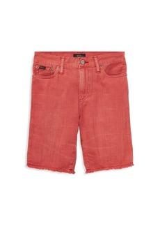 Ralph Lauren Little Boy's & Boy's Slouch Slim-Fit Denim Shorts