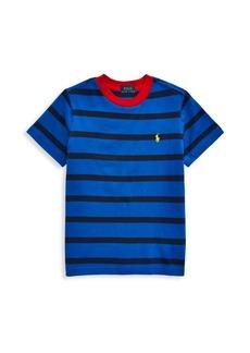 Ralph Lauren Little Boy's & Boy's Stripe T-Shirt