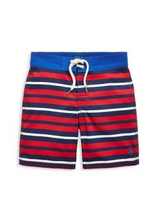 Ralph Lauren Little Boy's & Boy's Striped Swim Trunks