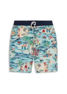 Ralph Lauren Little Boy's & Boy's Tropical Swim Trunks