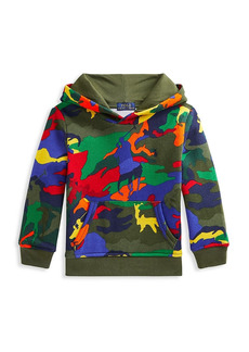 Ralph Lauren Little Boy's & Boy's Vibrant Cotton Camouflage Hoodie