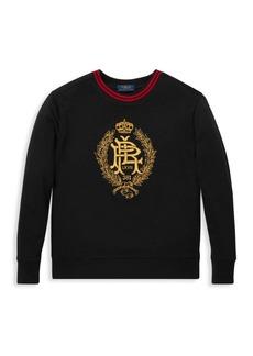 Ralph Lauren Little Boy's & Boy's Vintage Fleece Sweatshirt
