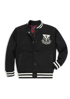 Ralph Lauren Little Boy's & Boy's Vintage Fleece Varsity Jacket