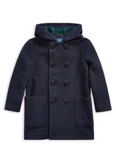 Ralph Lauren Little Boy's & Boy's Wool-Blend Peacoat
