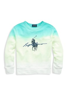 Ralph Lauren Little Boy's and Boy's Ombré Sweatshirt