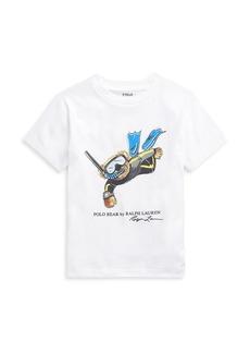 Ralph Lauren Little Boy's and Boy's Print Cotton T-Shirt