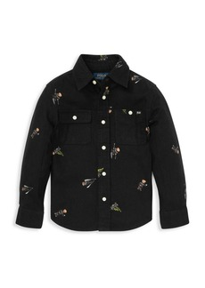 Ralph Lauren Little Boy's and Boy's Printed Button-Down Shirt