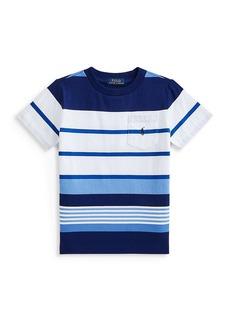 Ralph Lauren Little Boy's and Boy's Stripe T-Shirt