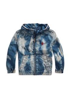 Ralph Lauren Little Boy's Bleach-Effect Cotton Denim Jacket