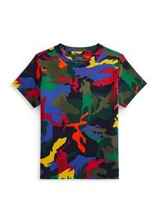 Ralph Lauren Little Boy's Brand Camouflage T-Shirt
