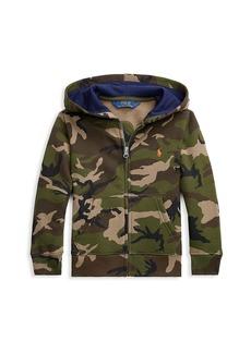 Ralph Lauren Little Boy's Camouflage Hoodie