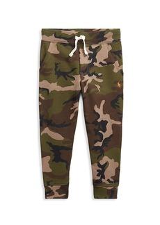 Ralph Lauren Little Boy's Camouflage Joggers