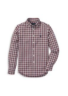 Ralph Lauren Little Boy's Check Cotton Shirt