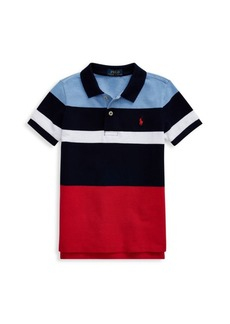Ralph Lauren Little Boy's Colorblock Cotton Polo Shirt