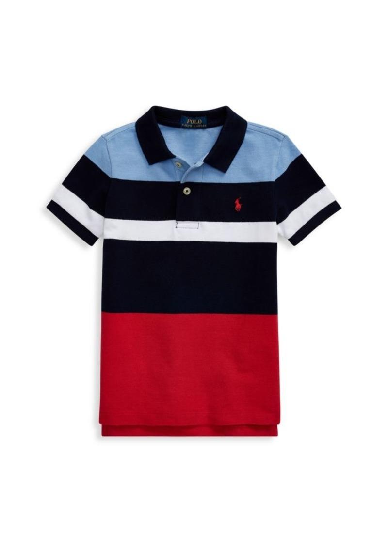 Ralph Lauren Little Boy's Colorblock Cotton Polo Shirt