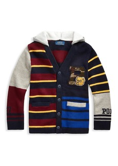 Ralph Lauren Little Boy's Combed Cotton Cardigan