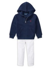 Ralph Lauren Little Boy's Cotton-Blend Fleece Hoodie