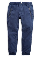 Ralph Lauren Little Boy's Cotton Poplin Jogger Pants