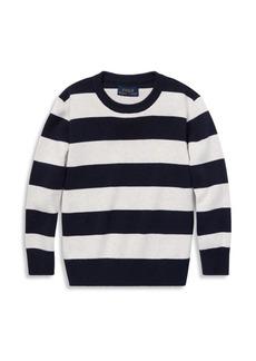 Ralph Lauren Little Boy's Cotton Stripe Sweater