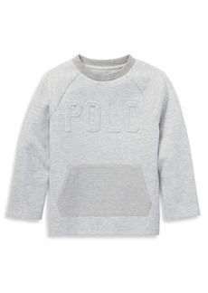 Ralph Lauren Little Boy's Embossed Logo Crewneck Sweater
