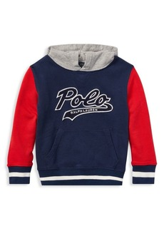 Ralph Lauren Little Boy's & Boy's French Terry Varsity Hoodie