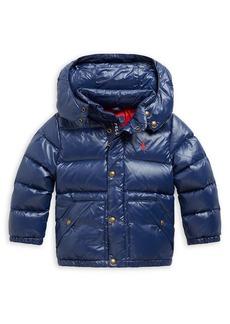 Ralph Lauren Little Boy's Hawthorne Hooded Puffer Down Jacket