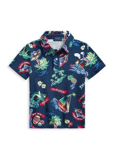Ralph Lauren Little Boy's Jamaica Graphic Print Polo