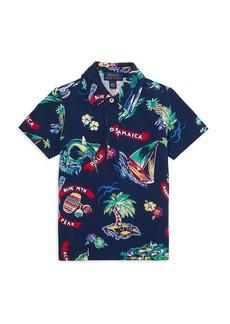 Ralph Lauren Little Boy's Jamaica Short-Sleeve Printed Shirt