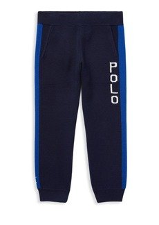 Ralph Lauren Little Boy's Merino Wool Joggers