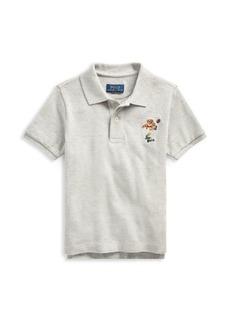Ralph Lauren Little Boy's Mesh Cotton Polo