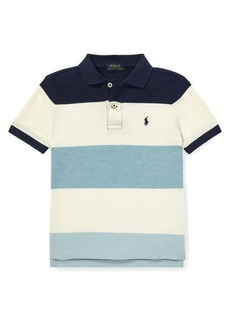 Ralph Lauren Little Boy's Mesh Short-Sleeve Polo Shirt