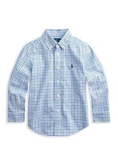 Ralph Lauren Little Boy's Natural Stretch Poplin Shirt