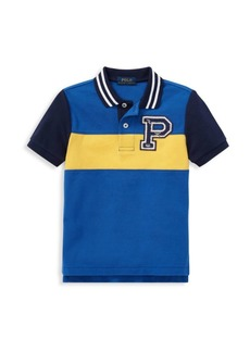 Ralph Lauren Little Boy's Pieced Cotton Polo