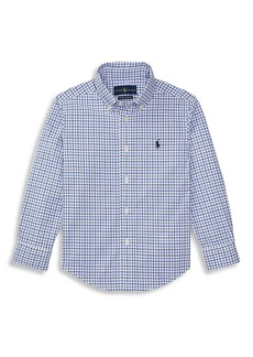 Ralph Lauren Little Boy's Plaid Button-Down Shirt