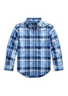Ralph Lauren Little Boy's Plaid Shirt