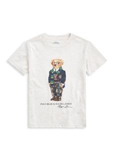 Ralph Lauren Little Boy's Polo Bear Jersey T-Shirt