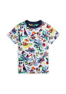 Ralph Lauren Little Boy's Print Cotton T-Shirt